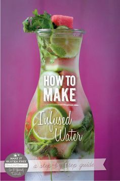 How To Make Infused Water #projectlunchbox