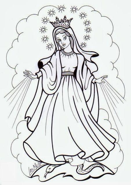 El Rincon De Las Melli Nuestra Senora De La Medalla Milagrosa Historia De La Virgen Imagenes De La Virgen Milagroso