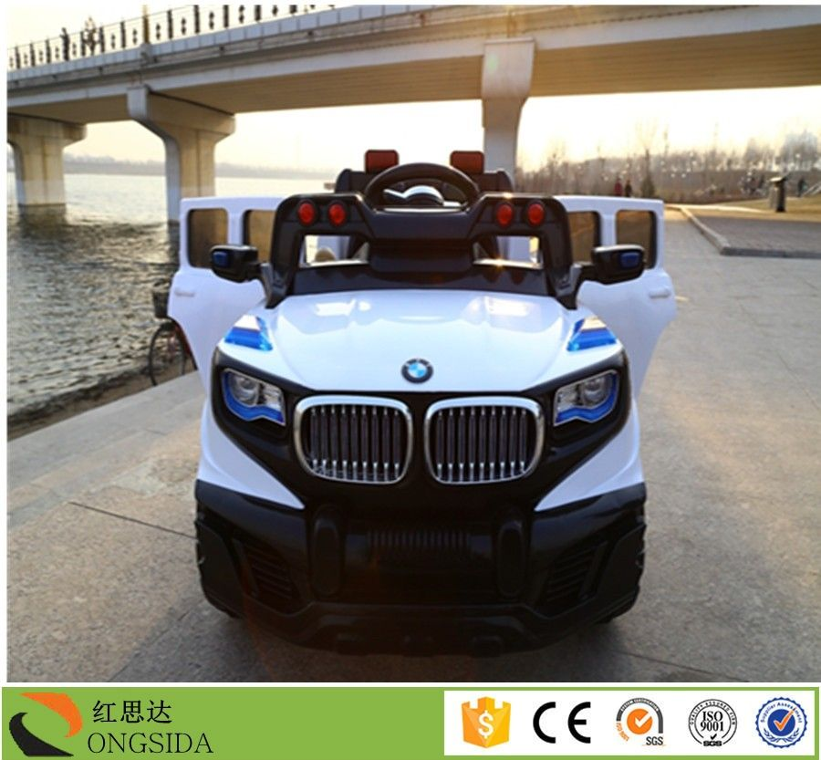 Newest 12 V Electric Cars For Kids Ride On Car With Two Seat