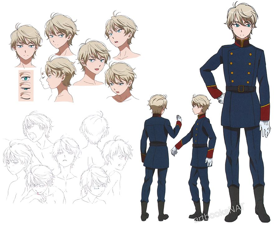 Anime Characters Zero : Aldnoah zero i like it pinterest character sheet