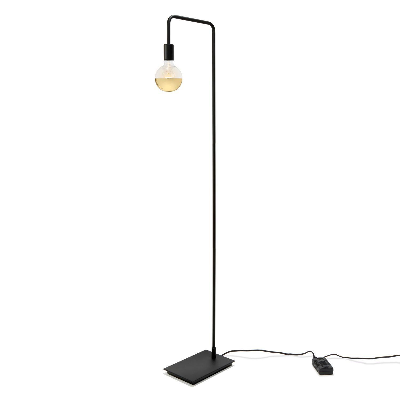 Prospect Floor Lamp Matte Black Floor Lamp Lamp Black Floor Lamp