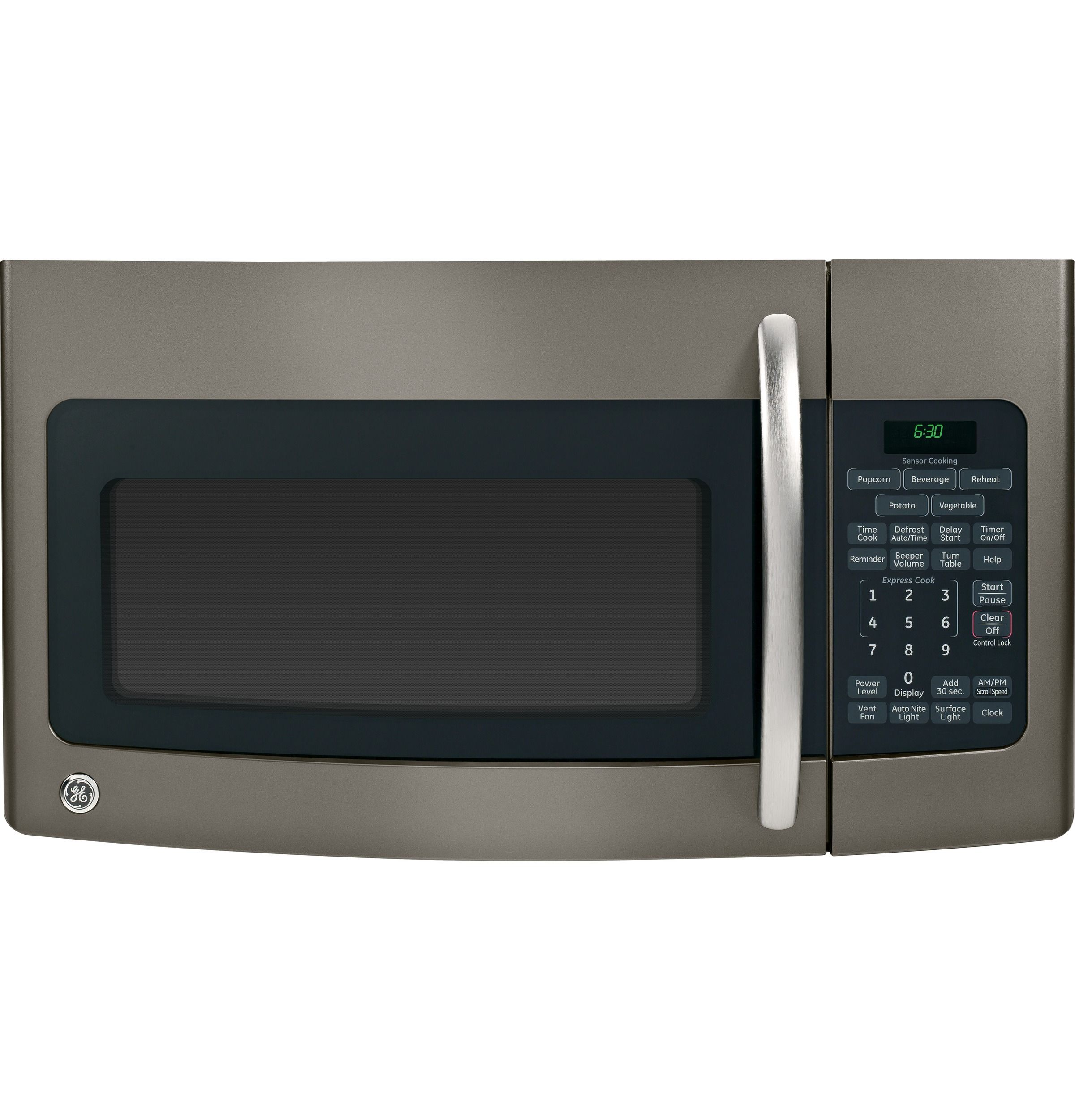 Jvm1750epes Ge Spacemaker 1 7 Cu Ft Over The Range Sensor Microwave Oven Ge Appliances Microwave Oven Slate Appliances Kitchen Range Microwave