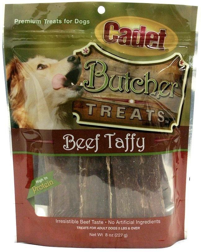 Cadet Butcher Treats 100 Beef Strips Dog Treats Dog Treats