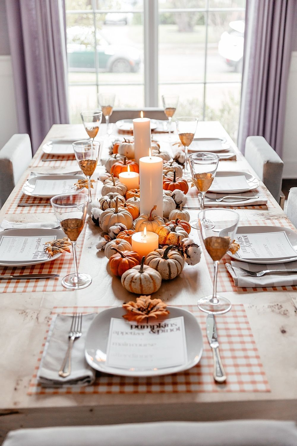 brighton keller dining room fall theme tablescape #home #style    Thanksgiving table decorations, Thanksgiving table centerpiece, Thanksgiving  dinner party