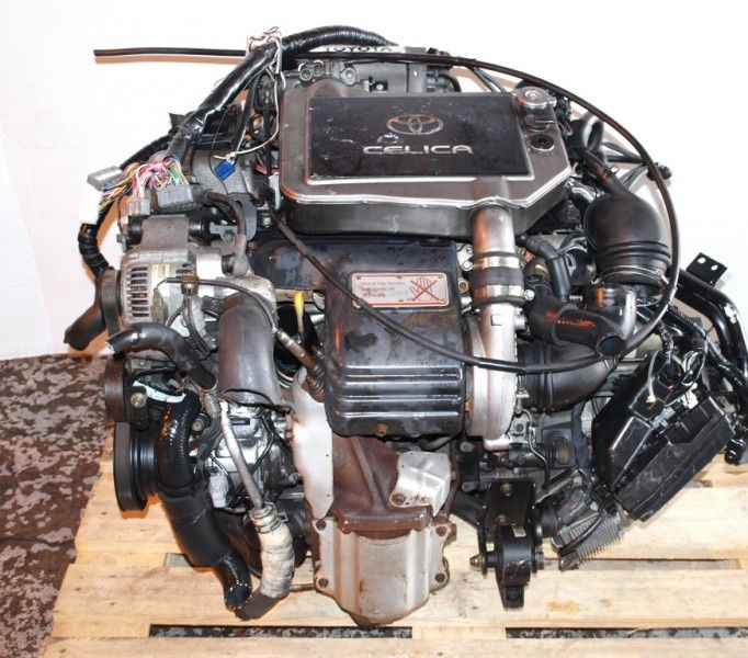 9499 JDM 3SGTE CELICA ENGINE TURBO 5SPD TRANS ECU UNCUT