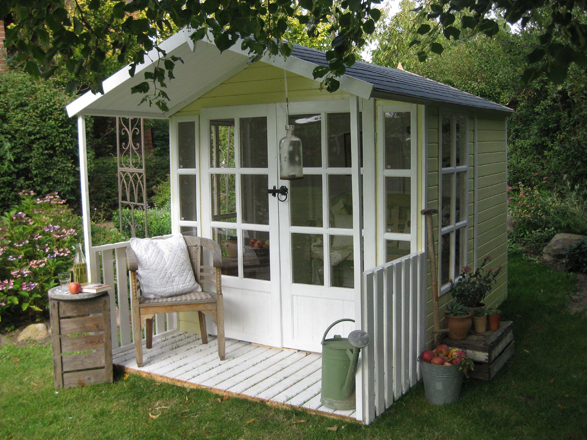 Gartenhaus Modell Laura Gartenhaus mit veranda