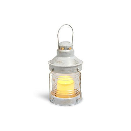 View Blooma Lampades White Flickering Candle Lantern details