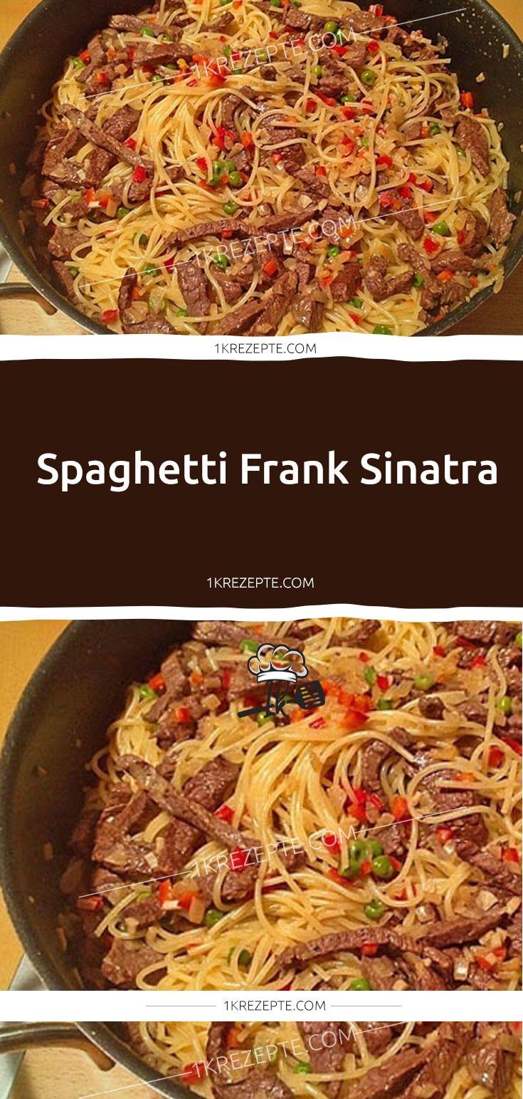 Spaghetti Frank Sinatra - 1k Rezepte #ofengerichteschnell