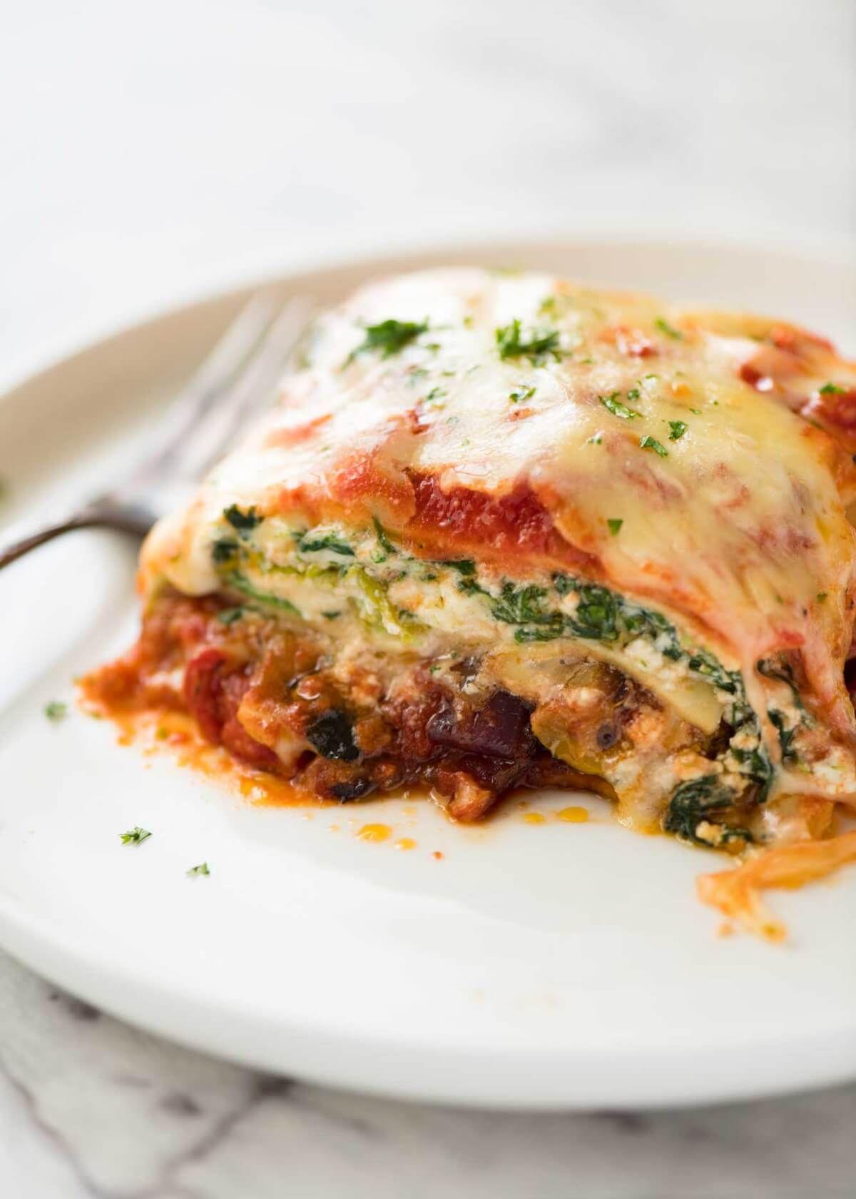 Vegetarian Lasagna Recipe Vegetarian Lasagna Recipe Vegetarian Lasagna Vegetable Lasagna Recipes