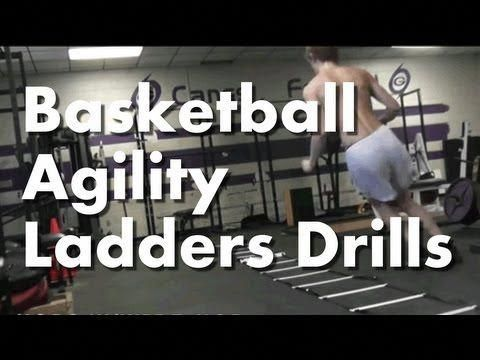 Agility Ladder Drills For Basketball Quickness Footwork