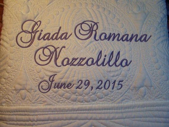 A personalized baby quilt is one of the most cherished baby gifts a personalized baby quilt is one of the most cherished baby gifts you can give the negle Image collections