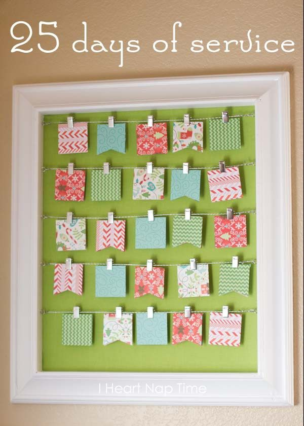 Ideas For Advent Calendar Netmums : Diy christmas advent calendar ideas calendars