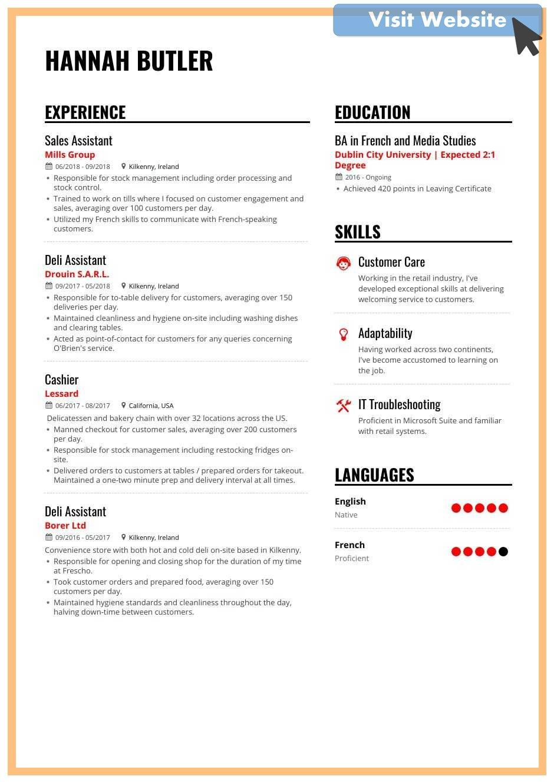 Customer Service Resume Skills Example Resume Skills Resume Examples Resume Writing Services
