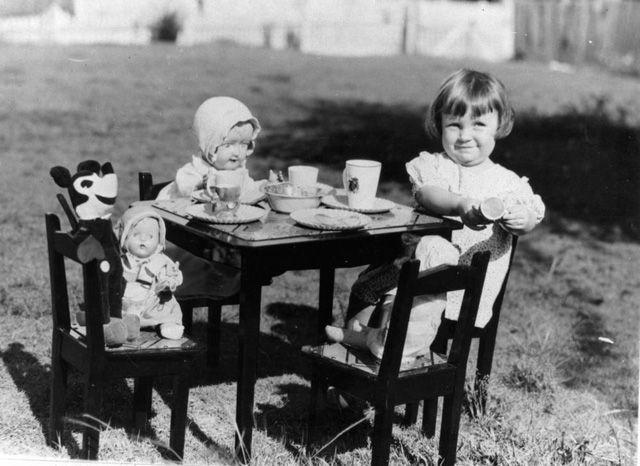 Tea party anyone? Too cute!