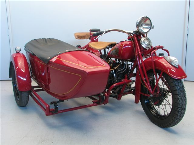 Indian 1936 Standard Scout 750