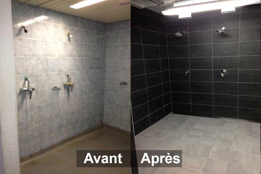 Peindre Carrelage Salle De Bain Avant Apres Jd3ddesigns Com En 2020 Carrelage Salle De Bain Avant Apres Salle De Bain Salle De Bain