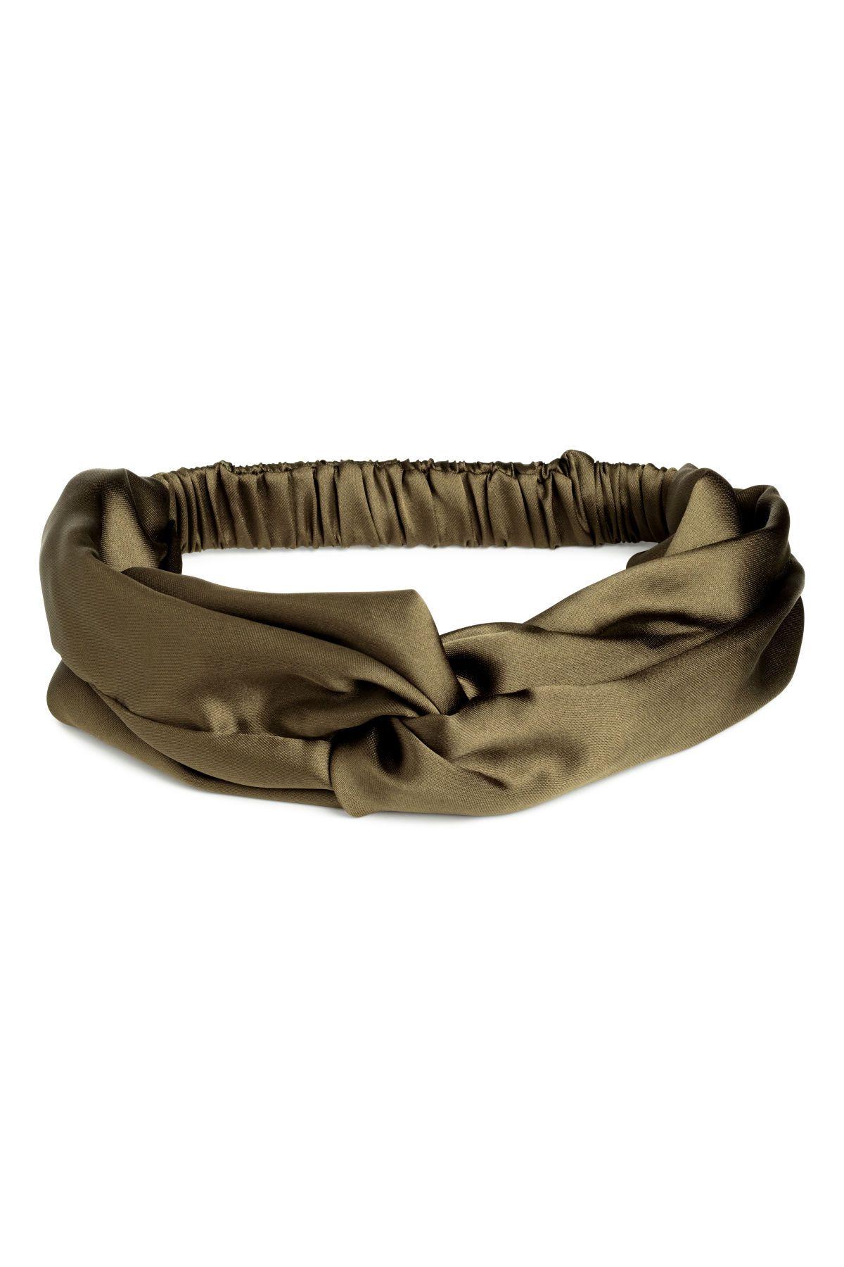 Größe 7 weich und leicht Neuankömmling Haarband mit Knotendetail   GREEN PLUS SIZE   Haar band ...
