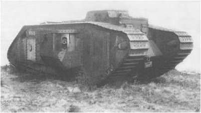 Tanks were used in ww1. It changed the way all wars from here on ...