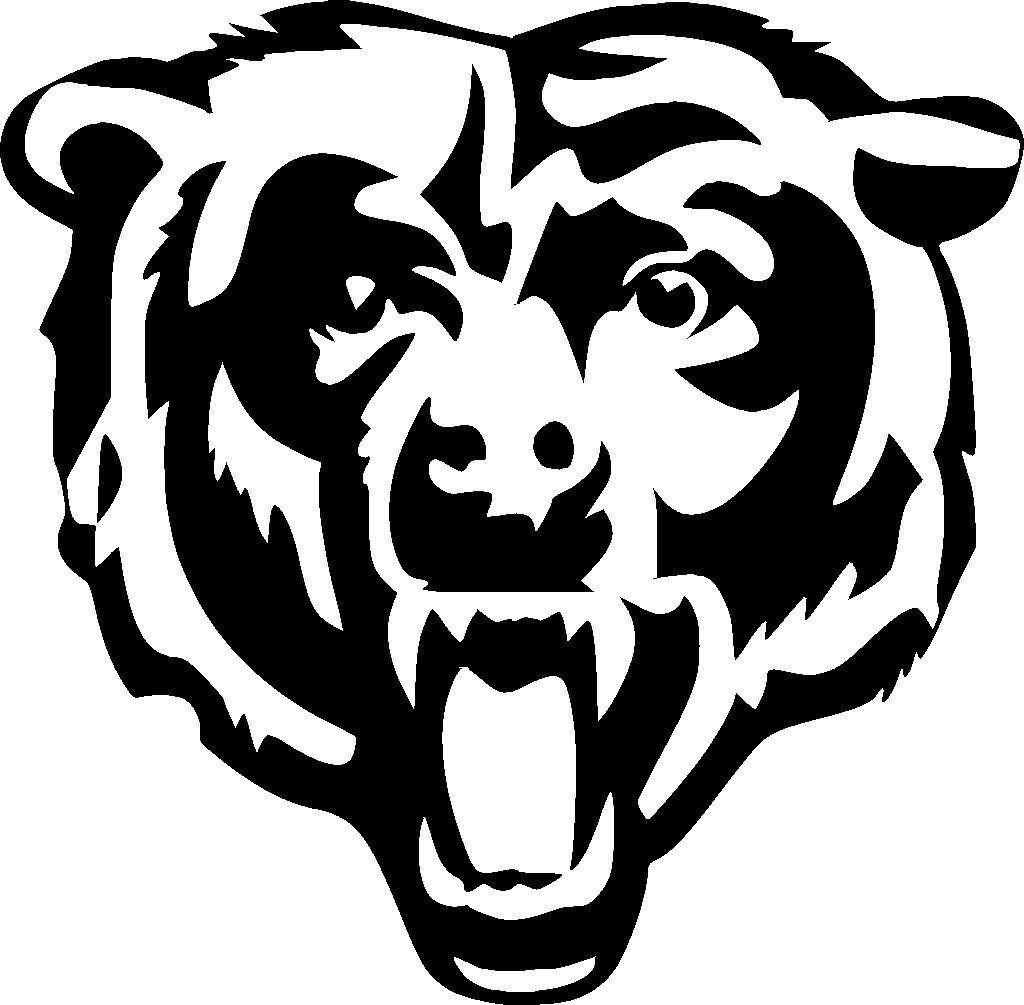 Bears Coloring Pages (With images) | Chicago bears logo ...