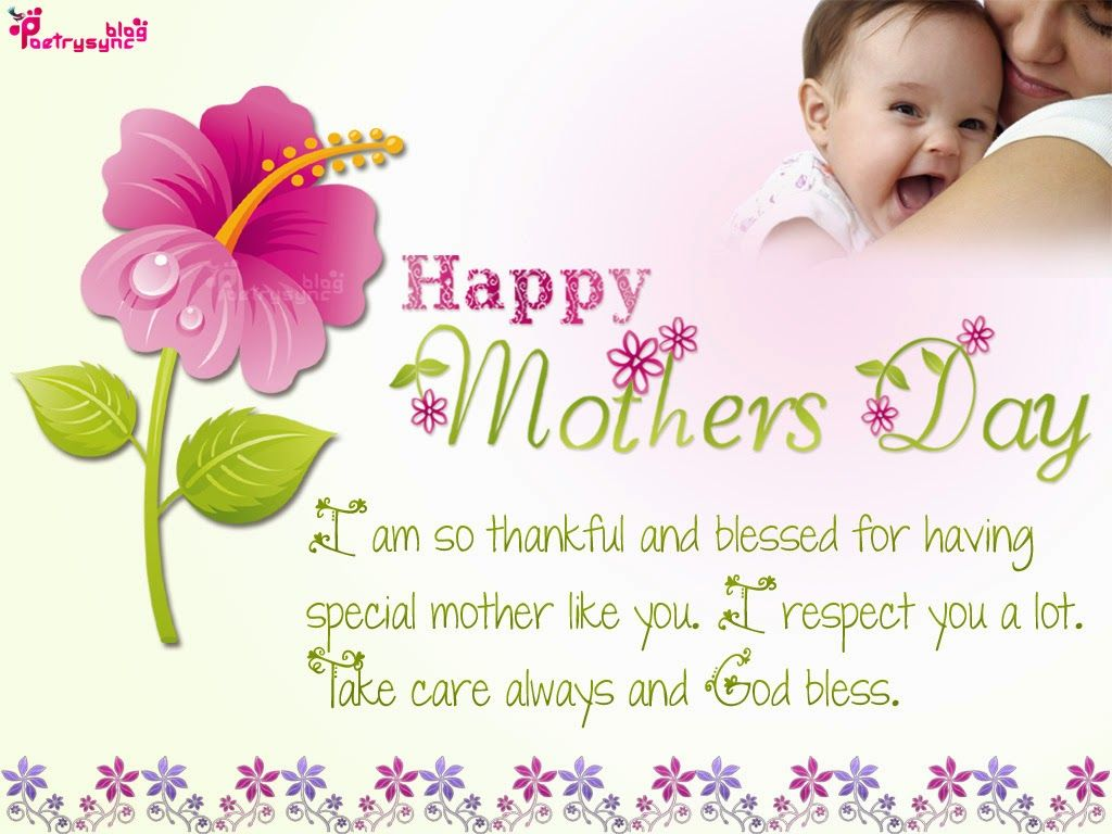 Happy Mothers Day Thanks Wishes Message Sms And Ecard Image With