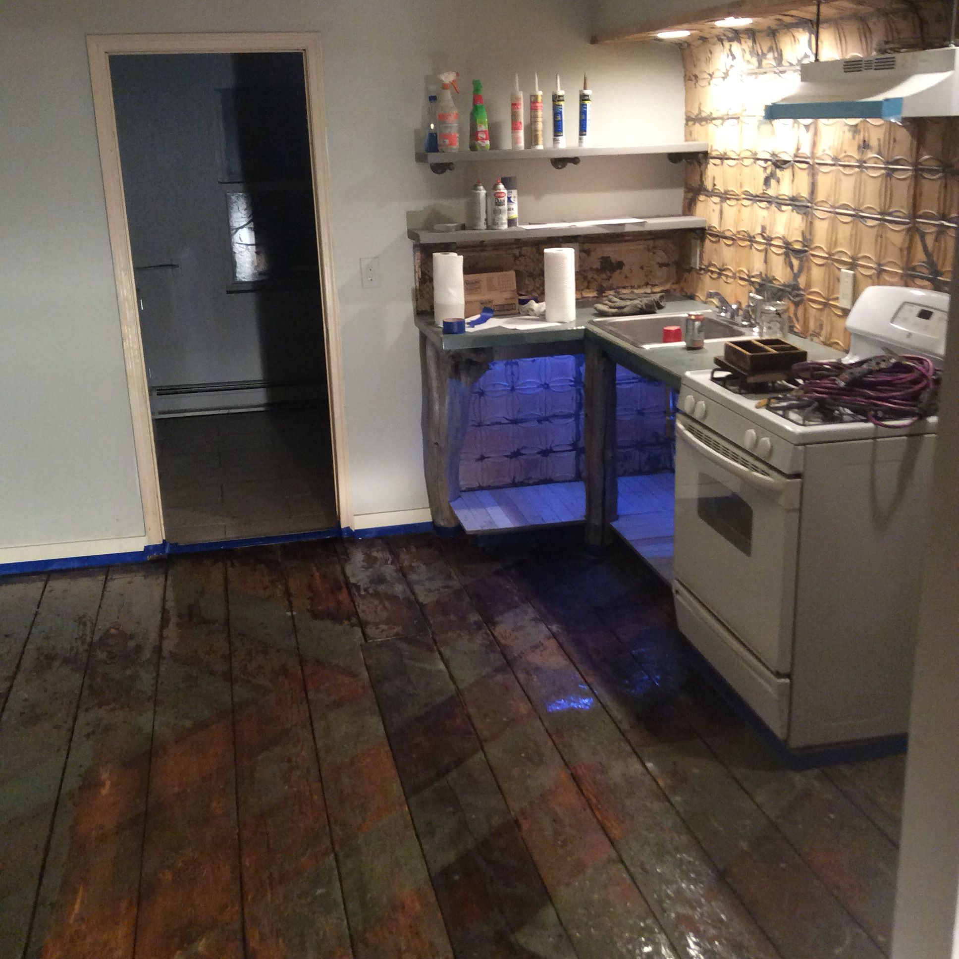 Laying Down The Polyurethane And Buttoning Up Kitchen Cabinets Kitchen Home Decor