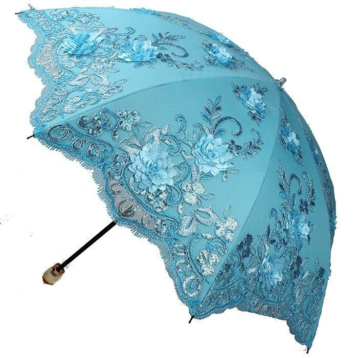 Parapluie pliants Femme Bleu bleu LCY