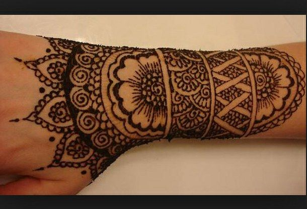 Henna Tattoo Kits Uk : Arm art hand henna tattoo human image
