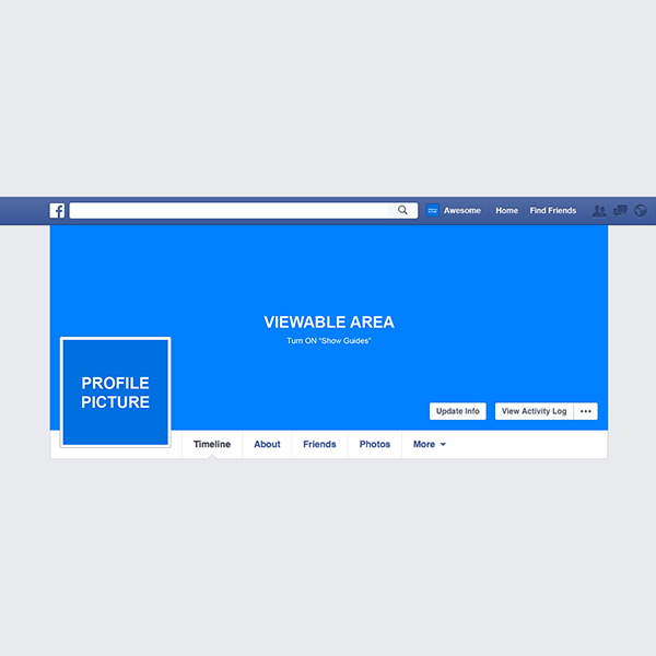 Free Facebook Mockup For Cover And Profile Image 2 6 Mb By Artem Shykov On Behance Free Photoshop Mocku Facebook Mockup Free Facebook Facebook Frame