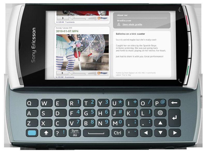 Sony ericsson u5i android smartphone