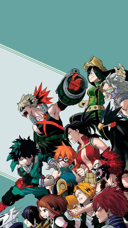 Boku No Hero Academia Random Mobile Wallpapers 540x960 Hero Wallpaper My Hero Academia Episodes Anime