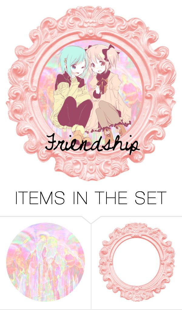 """friendship"" by foxydeadpool on Polyvore featuring art"
