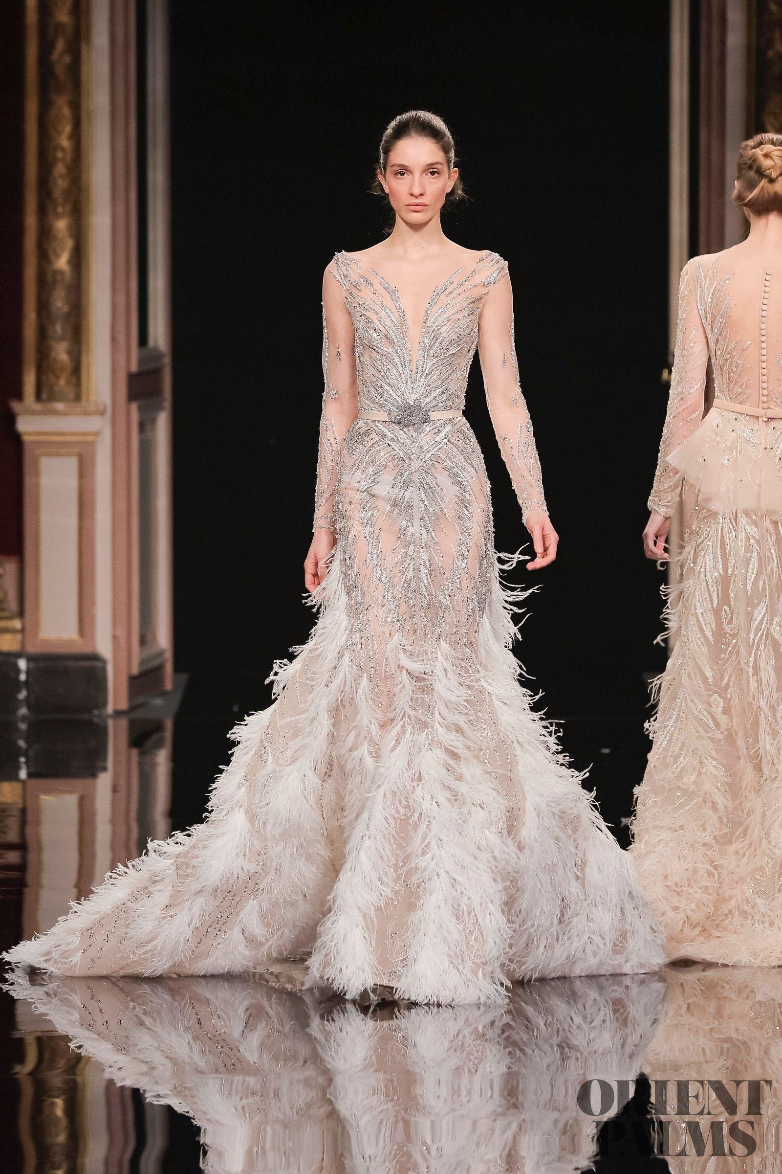 Ziad Nakad Spring-summer 17 - Couture  Vestidos estilosos