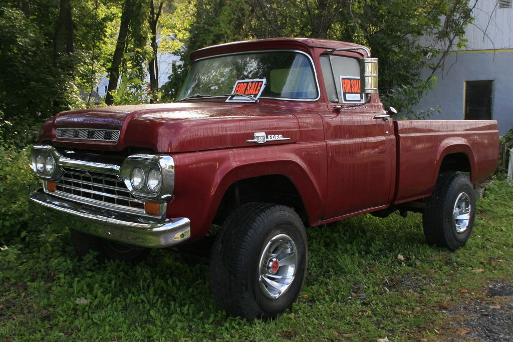 1959 Hood W 60 Ford 4x4 F 100 Sell Search 79 Ford Truck