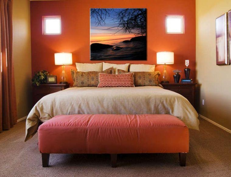 Cuadros para dormitorios elegantes dormitorios - Ideas para pintar cuadros ...