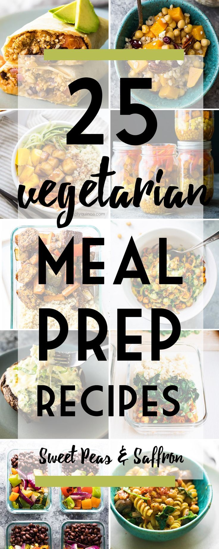 40 Vegetarian Meal Prep Recipes