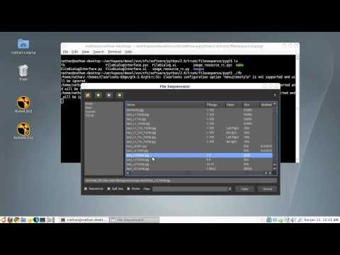 PyQt Sequence File Browser - YouTube | Pyqt ในปี 2019