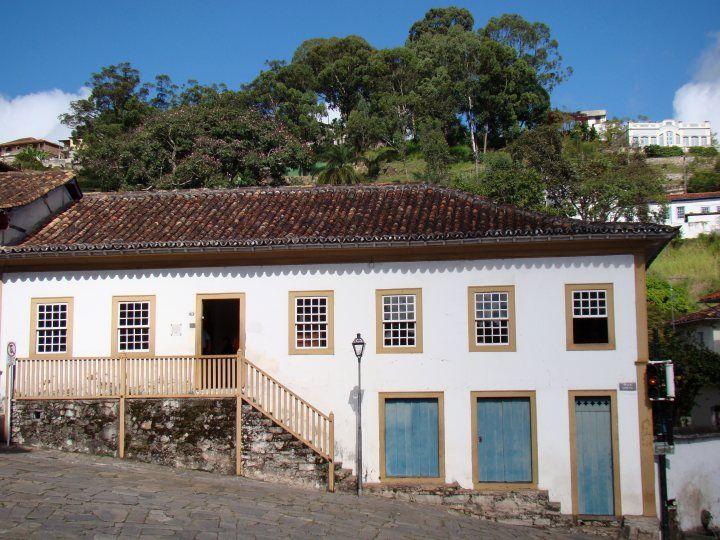 O Museu do Diamante foi instalado na antiga residência do Padre Rolim,  em Diamantina - Minas Gerais