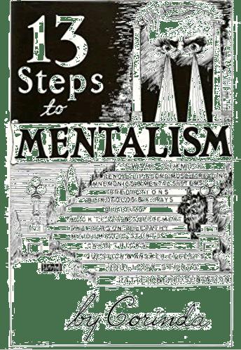 13 Steps To Mentalism Book Mind Reading Tricks Card Tricks Books