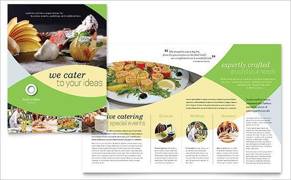 27+ Restaurant Brochure Templates \u2013 Free PSD, EPS, AI, InDesign