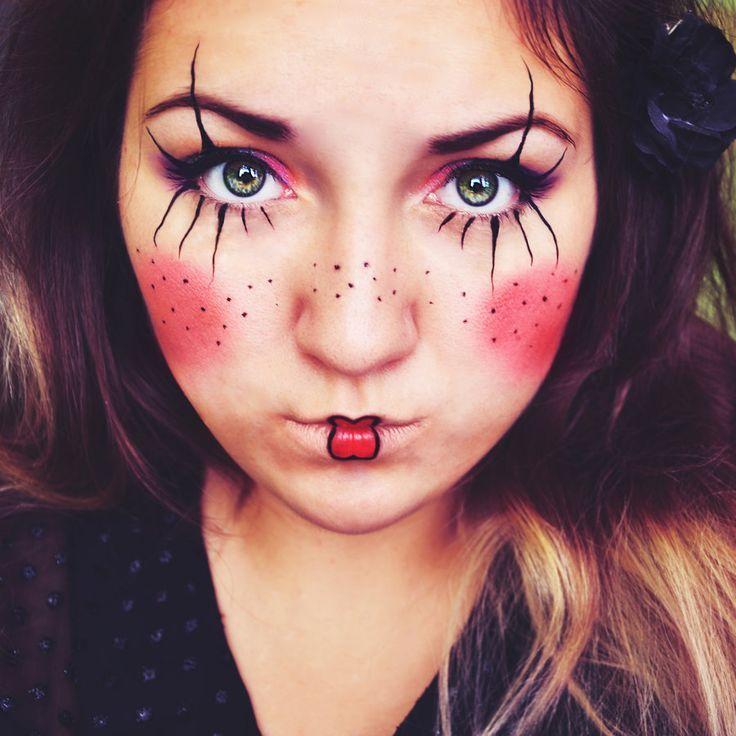 Clown Hair Ideas Bing Images Doll Makeup Halloween Halloween Makeup Easy Jester Makeup
