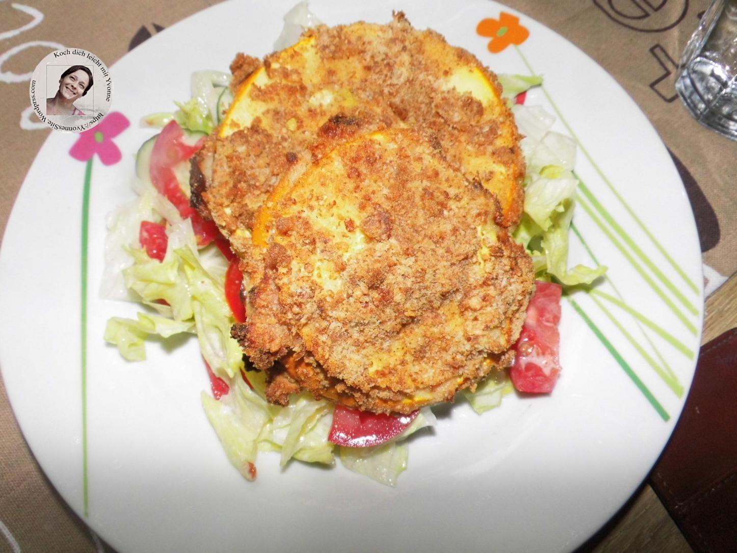 Zucchini Cordon-bleu | Geflügel-cordon bleu, Airfryer rezepte, Runde zucchini