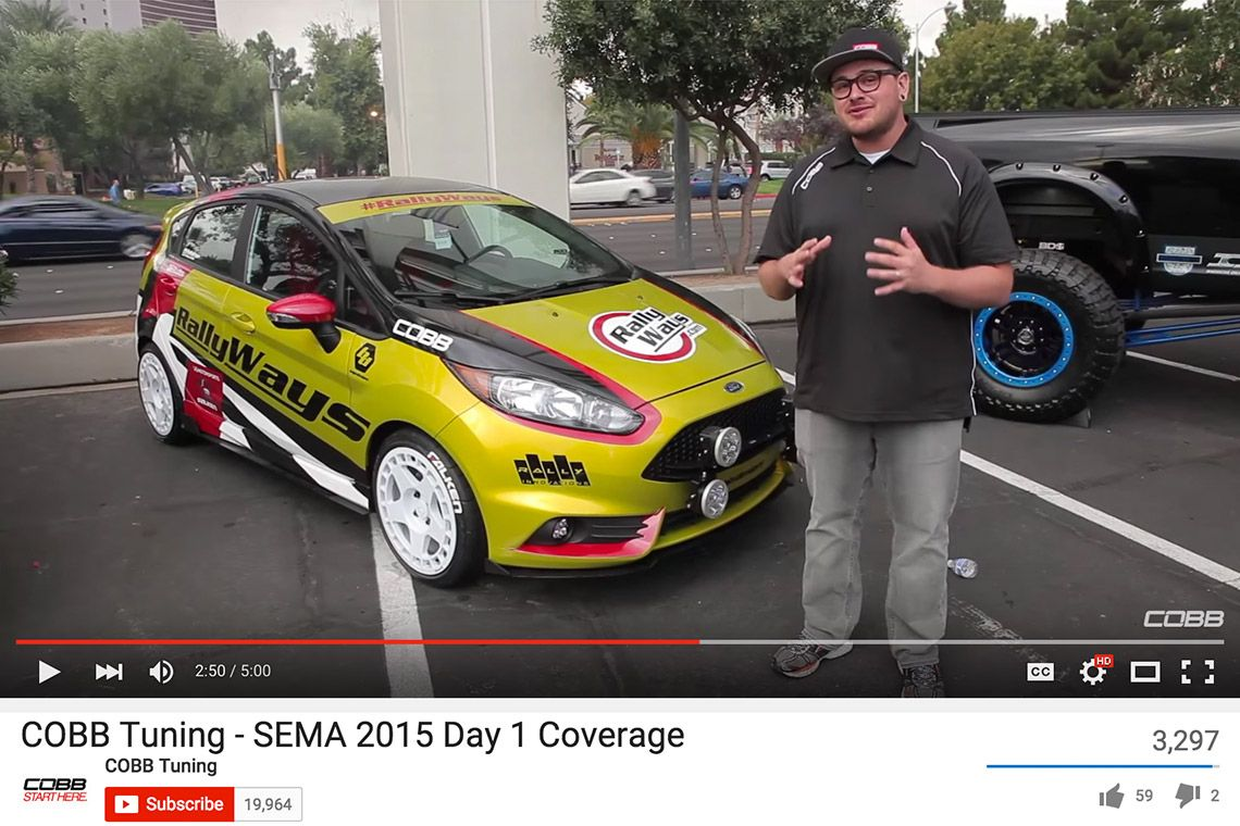 Rallyfist Featured By Cobb Tuning At Sema Cobb Tuning Ford