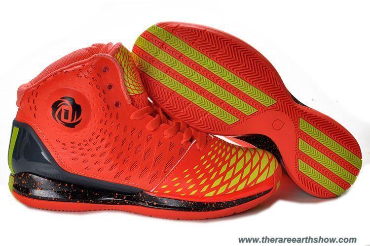 outlet store eec16 6d4c3 Adidas AdiZero Derrick Rose 3.5 Max Orange Black Yellow Sale