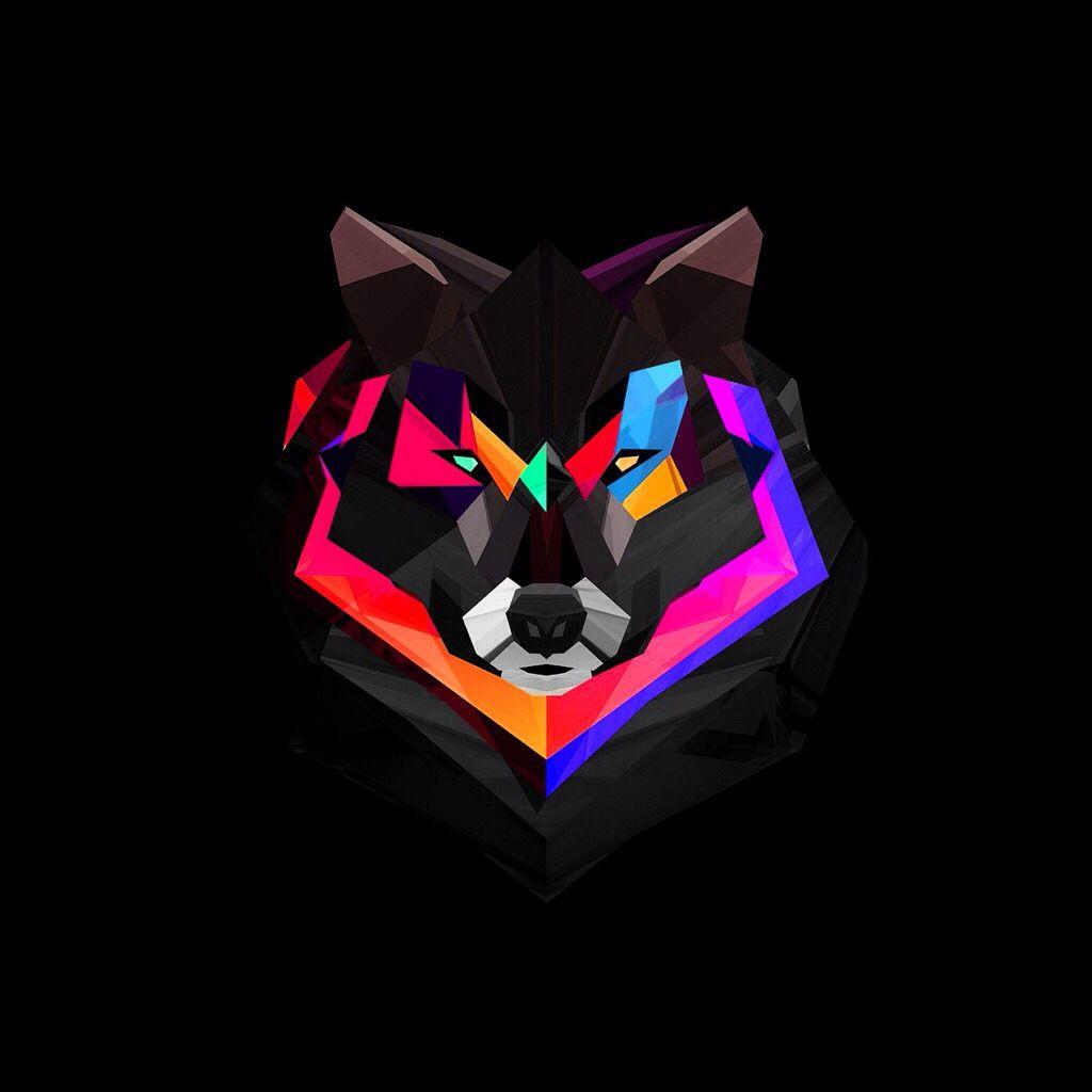 Wolf Art, Abstract Wolf, Wolf Emblem