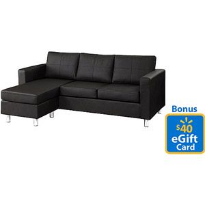 Small Es Configurable Sectional Sofa Multiple Colors With Bonus 40 Gift Card For 349