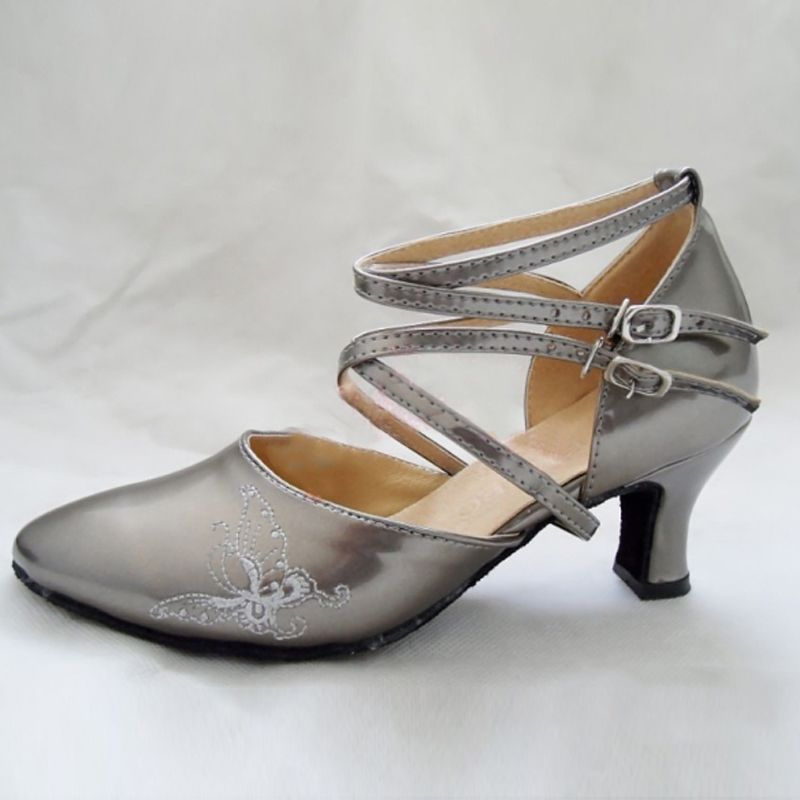 cb59c431de7 Hot Selling Women s Girl s Sandals Modern  Latin Ballroom Tango Dance Shoes  7cm High