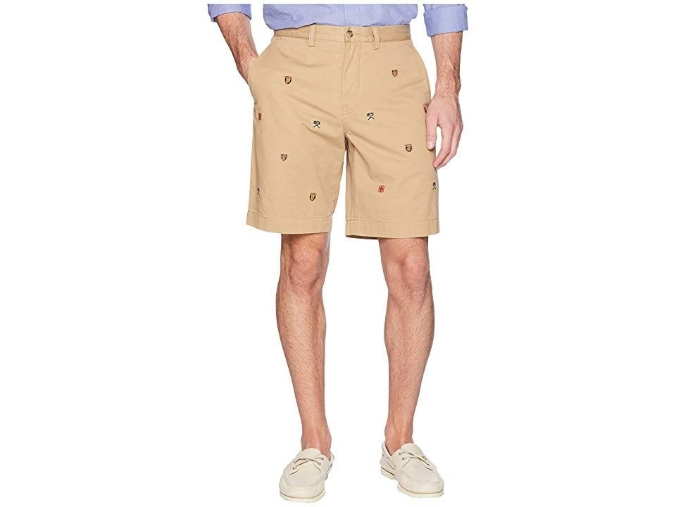Polo Ralph Lauren Stretch Classic Fit Chino Shorts Luxury TanEmbroidered Mens Shorts Cleverly crafted in a range of timeless tones the Polo Ralph Lauren Stretch Chino Sho...