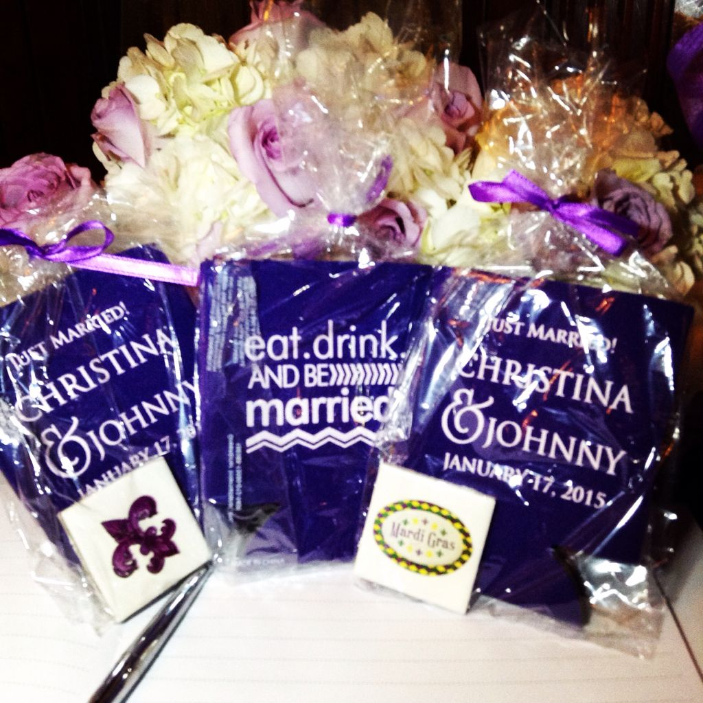 Party Halls Metairie: Eat, Drink, And Be Married! Mardi Gras Koozies And Magnets