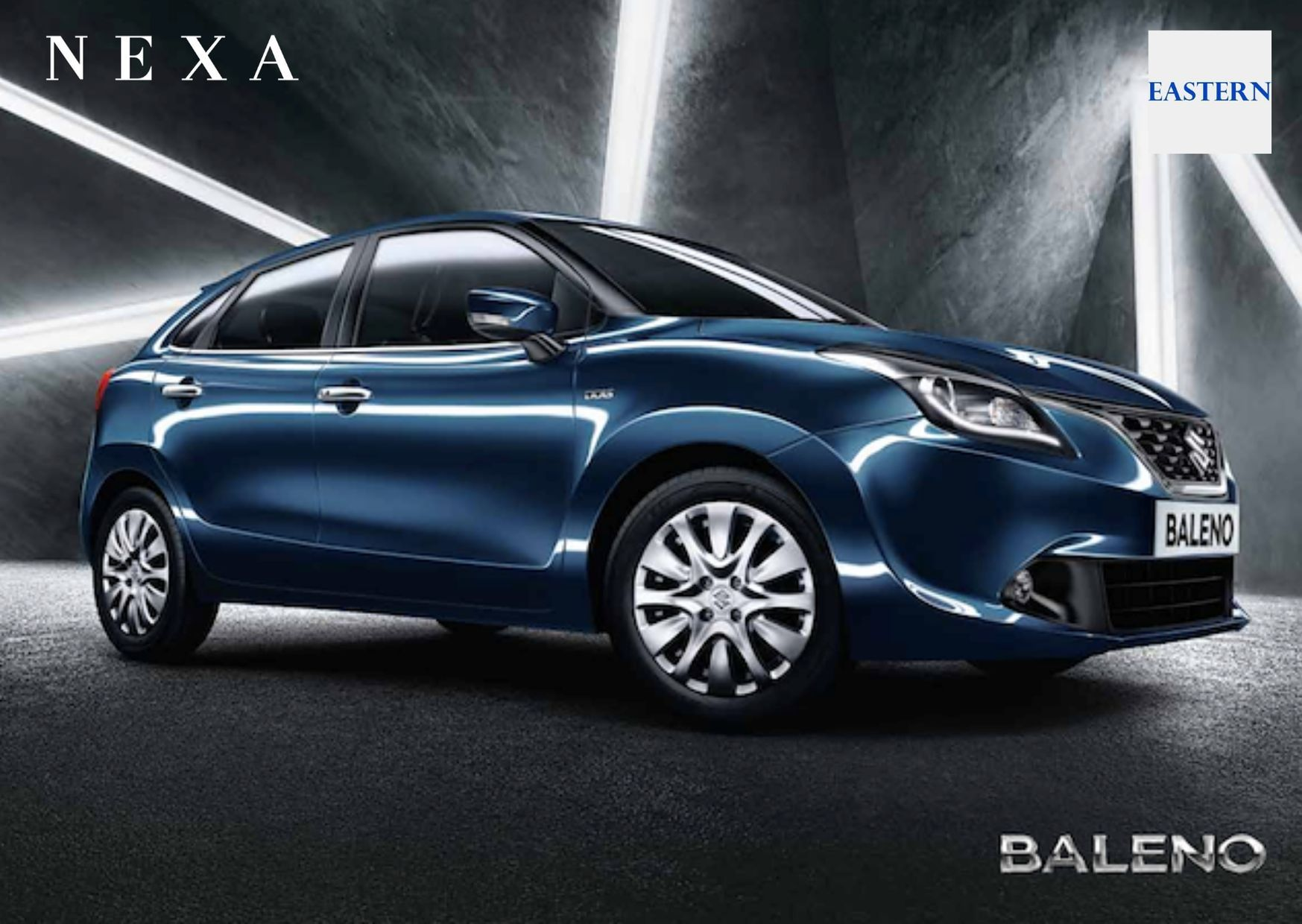 Get Baleno Car Test Drive in Imphal for free at Eastern