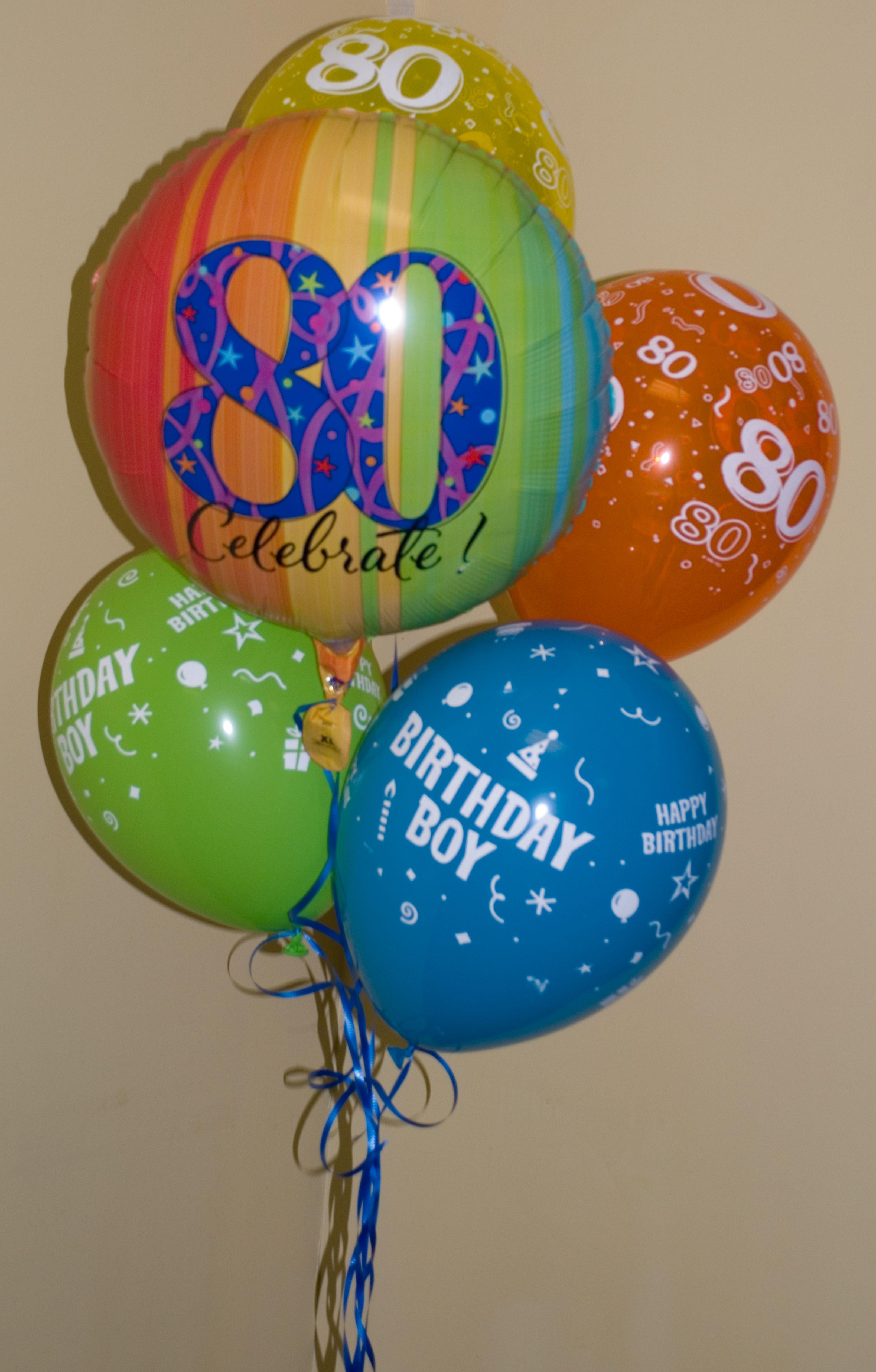 80th birthday balloons male 80th birthday birthday